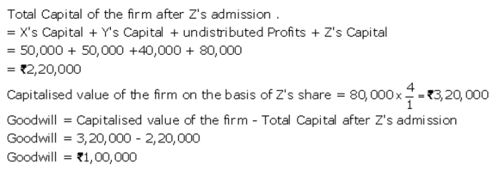TS Grewal Accountancy Class 12 Solutions Chapter 4 Admission of a Partner Q42