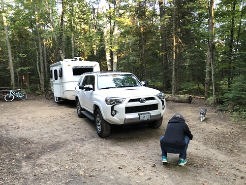 Arrowhead Provincial Park Camp with Puck and Linda