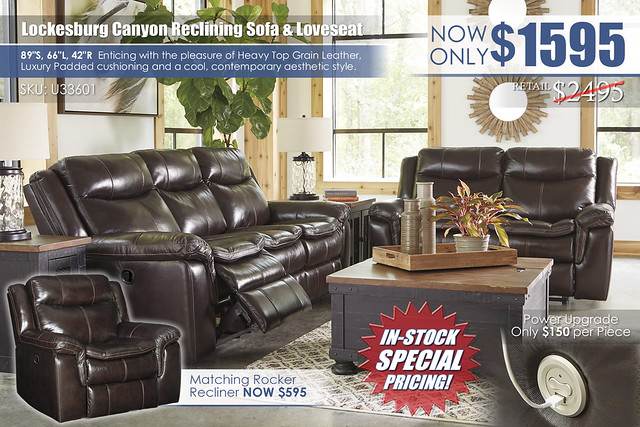 Lockesburg Canyon Reclining Sofa & Loveseat_U33601-88-86-T468