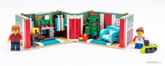 REVIEW LEGO 40292 Seasonal Christmas Gift Box