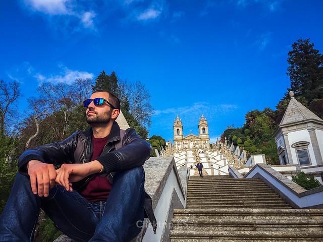 · Escaleras del Santuario de Bom Jesus do Monte, imprescindible en Praga · Qué ver en Braga en un día ·