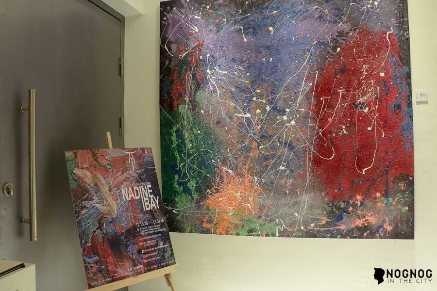 NMI ART GALLERY WITH ABSTRACT ARTIST NADINE IBAY (14 of 20)