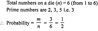 RD Sharma Class 10 Solutions Chapter 16 Probability VSAQS 4