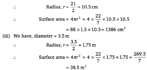 NCERT Solutions for Class 9 Maths Chapter 13 Surface Area and Volumes 20