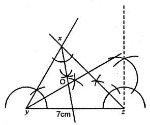 Selina Concise Mathematics Class 6 ICSE Solutions - Triangles (Including Types, Properties and Constructions) -9