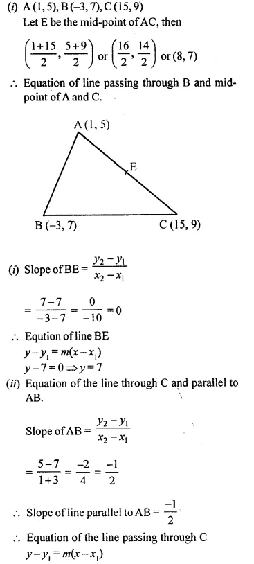 Selina Concise Mathematics Class 10 ICSE Solutions Chapterwise Revision Exercise 63