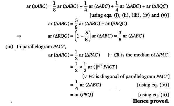 vedantu class 9 maths Chapter 9 Area of parallelograms and Triangles 49