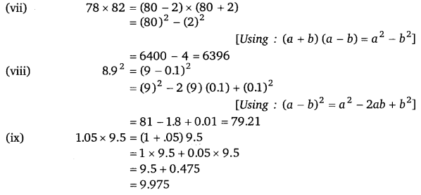 byjus class 8 maths Chapter 9 Algebraic Expressions and Identities 33