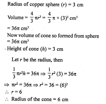 RD Sharma Class 10 Solutions Chapter 14 Surface Areas and Volumes Ex 14.1 16