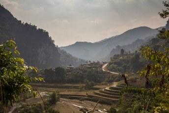 in het park leven de black thai erg primitief, maar ze hebben wel een mooi uitzicht