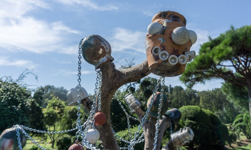 One of Several Sculptures at the Pearly Fryar Topiary Garden, Bishopville, S.C., Oct. 5, 2018.