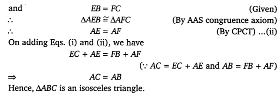 NCERT Solutions for Class 9 Maths Chapter 7 Triangles 22