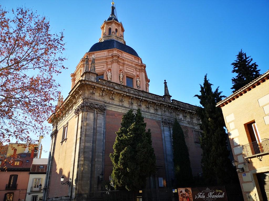 exterior cupula Iglesia de San Andres Madrid 01