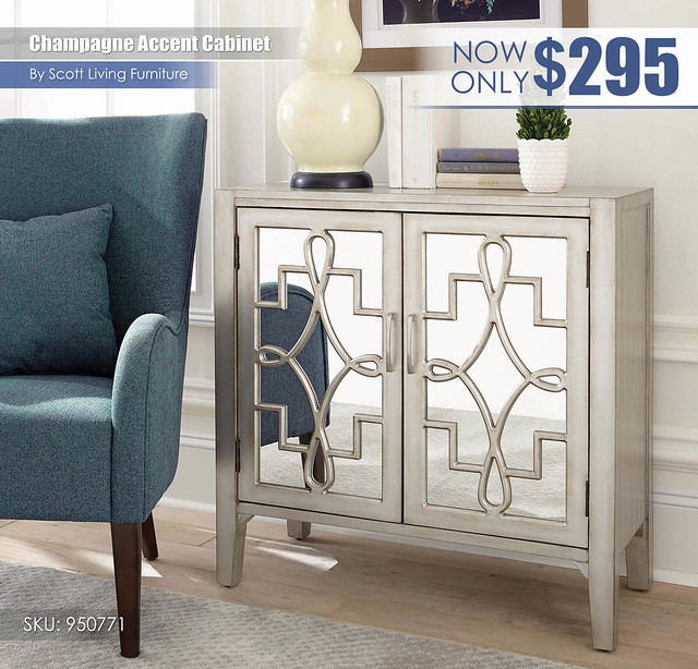 Champagne Accent Cabinet_Scott Living_950771