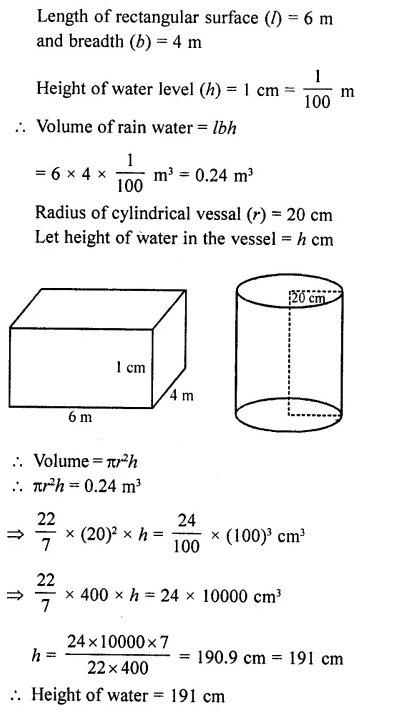 RD Sharma Class 10 Solutions Chapter 14 Surface Areas and Volumes Ex 14.1 35