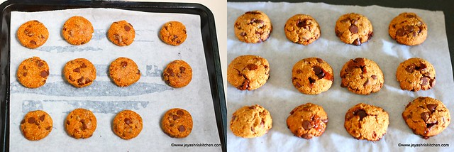 oats choco chips cookies 6