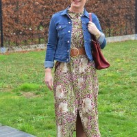 Outfit from the week: From work to party