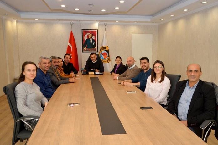 AGC'den Başkan Yücel'e iade-i ziyaret