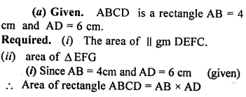 ML Aggarwal Class 9 Solutions for ICSE Maths Chapter 14 Theorems on Area    ct 1s