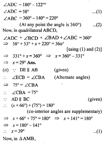 ML Aggarwal Class 9 Solutions for ICSE Maths Chapter 13 Rectilinear Figures  ct 4b