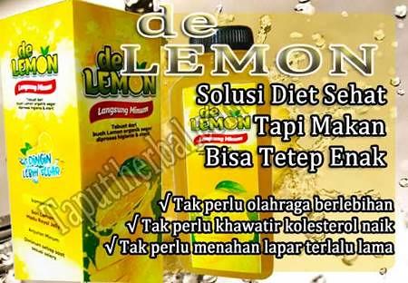 minuman pelangsing de lemon