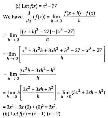 NCERT Solutions for Class 11 Maths Chapter 13 Limits and Derivatives 70