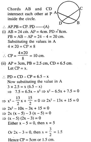 Selina Concise Mathematics Class 10 ICSE Solutions Chapterwise Revision Exercise 86