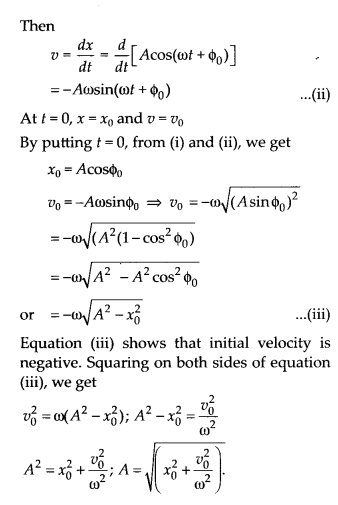 NCERT Solutions for Class 11 Physics Chapter 14 Oscillation 35