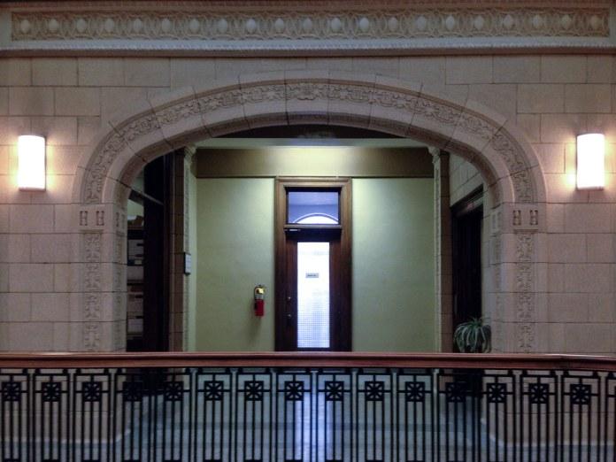 Inside the Logansport City Building