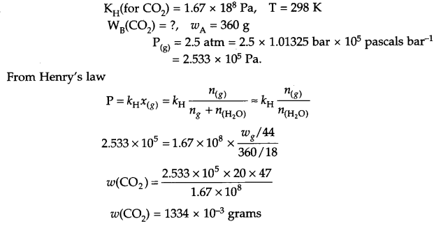 CBSE Sample Papers for Class 12 Chemistry Paper 5 Q.14.2