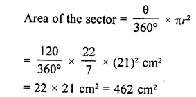 RD Sharma Class 10 Solutions Chapter 13 Areas Related to Circles VSAQS - 15