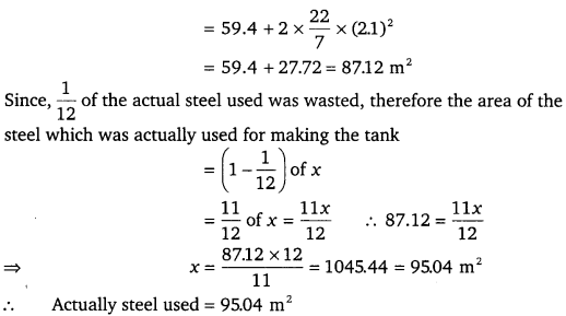NCERT Solutions for Class 9 Maths Chapter 13 Surface Area and Volumes 7