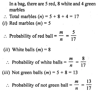 RD Sharma Class 10 Solutions Chapter 16 Probability Ex 16.1 34