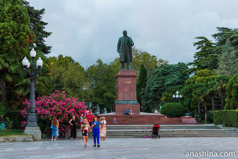Площадь Ленина, Ялта, Крым