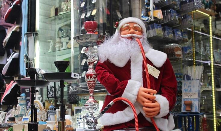 Naughty Santa, Athens, Grece