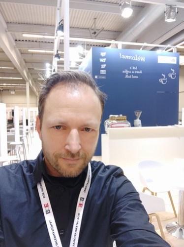Köln Catering Service Geschäftsführer Mike Herrmann auf der BOE 2019 in der Messe Dortmund
