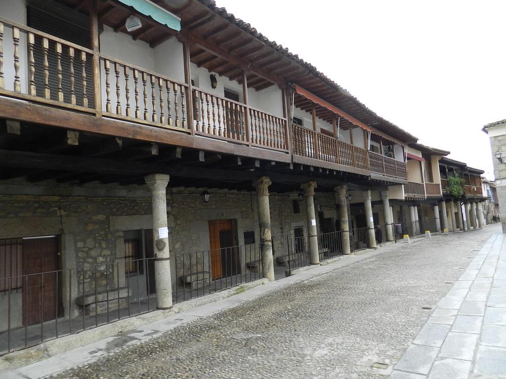 casas porticada Plaza de España Cuacos de Yuste Caceres 03