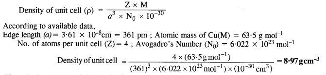 NCERT Solutions for Class 12 Chemistry Chapter 1 The Solid State 21