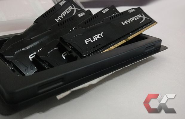 HyperX Fury DDR4 review overcluster 2