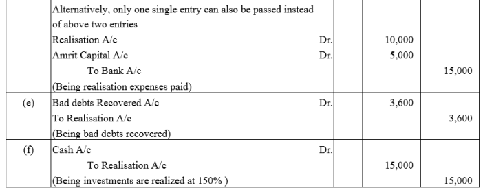 TS Grewal Accountancy Class 12 Solutions Chapter 6 Dissolution of Partnership Firm Q5.1