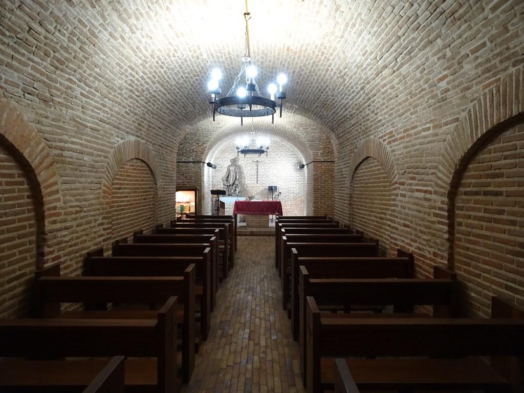 altar Cripta interior de Iglesia San Antonio de los Alemanes Madrid