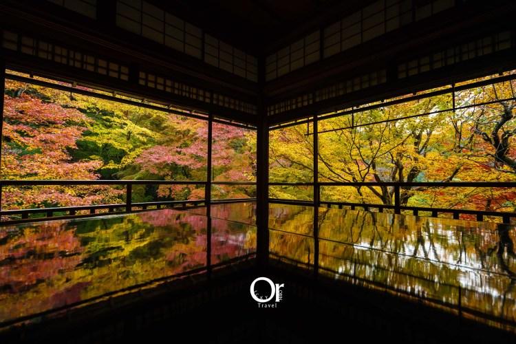 京都賞楓景點 琉璃光院,京都一年只有兩次機會能見到的美景,來到京都千萬別錯過,夏秋限定京都攝影景點
