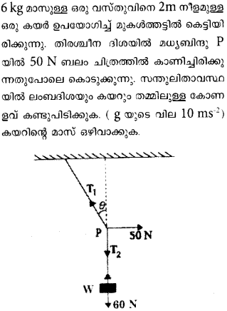 Plus One Physics Previous Year Question Papers and Answers