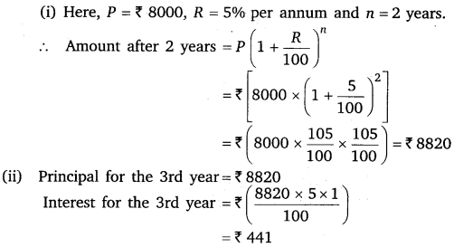 NCERT Solutions for Class 8 Maths Chapter 8 Comparing Quantities 19