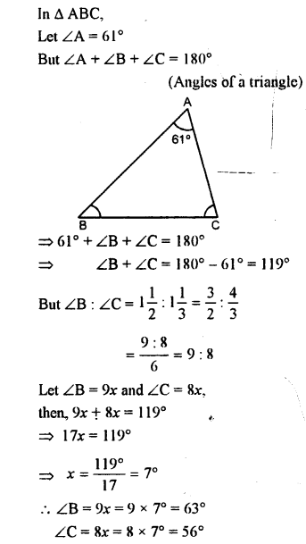 Selina Concise Mathematics class 7 ICSE Solutions - Triangles -a11