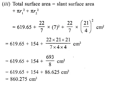 RD Sharma Class 10 Solutions Chapter 14 Surface Areas and Volumes Ex 14.3 4b
