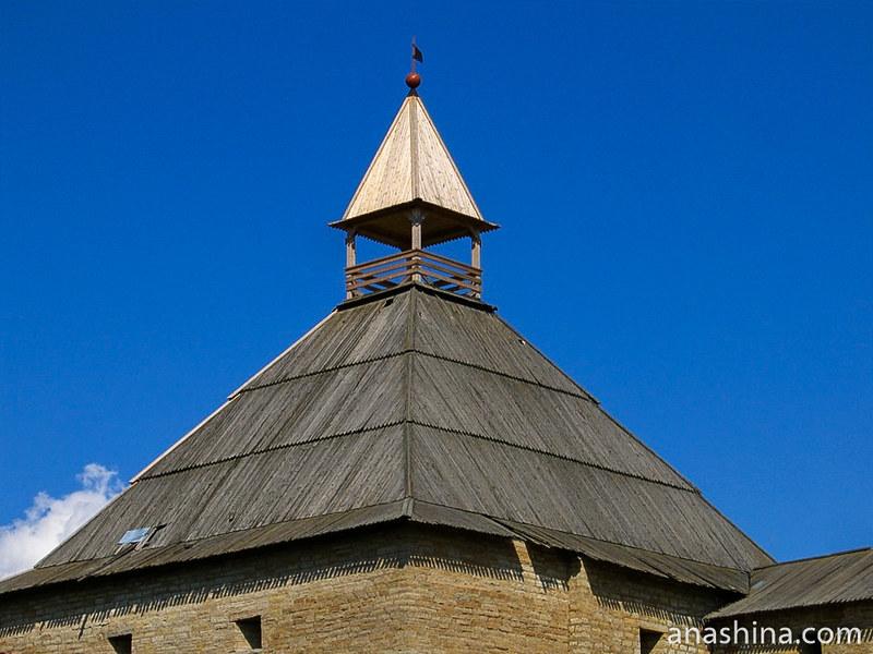 Воротная башня, Старая Ладога