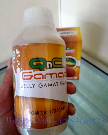 Obat Darah Tinggi QnC Jelly Gamat di Apotik