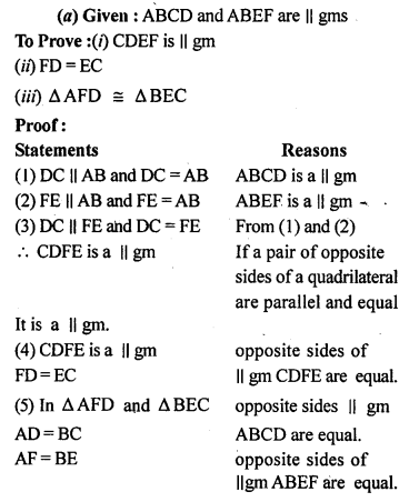 ML Aggarwal Class 9 Solutions for ICSE Maths Chapter 13 Rectilinear Figures  ex 22A