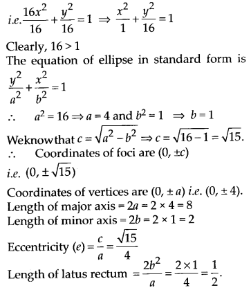 NCERT Solutions for Class 11 Maths Chapter 11 Conic Sections 19
